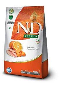 Ração ND N&D Pumpkin Grain Free para Gatos Adultos Tilápia
