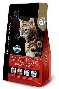 Ração Matisse para Gatos Adultos Carne e Arroz