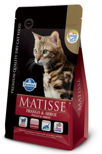 Ração Matisse para Gatos Adultos Frango e Arroz