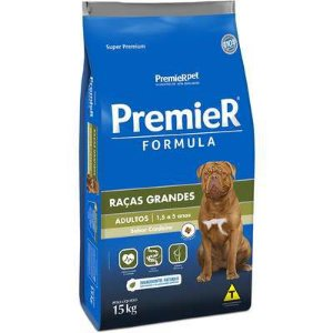 Ração Premier Formula para Cães Adultos Raças Grandes Sabor Cordeiro 15Kg
