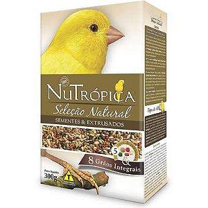 Ração Nutrópica Seleção Natural Sementes e Extrusados para Canários 300g