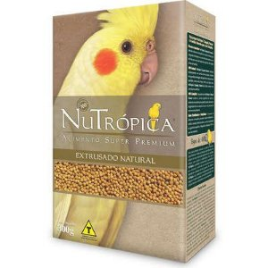 Ração Nutrópica Extrusados Natural para Calopsita
