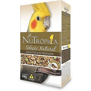 Ração Nutrópica Seleção Natural Sementes e Extrusados para Calopsita 300g