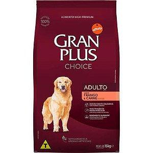 Ração Affnity Gran Plus Choice para Cães Adultos Sabor Frango e Carne