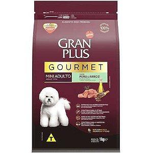 Ração Affnity Gran Plus Gourmet para Cães Mini Adultos Sabor Peru e Arroz