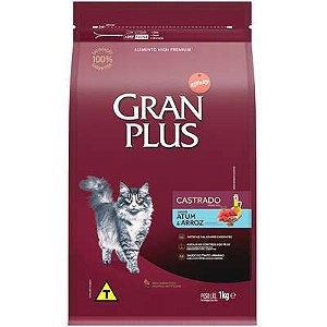 Ração Affnity Gran Plus para Gatos Castrados Adultos Sabor Atum e Arroz