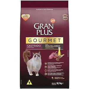 Ração Affnity Gran Plus Gourmet para Gatos Castrados Adultos Sabor Ovelha e Arroz
