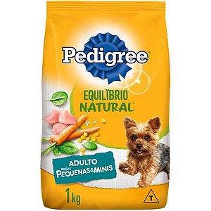Ração Pedigree Equilibrio Natural para Cães Adultos Raças Pequenas e Minis