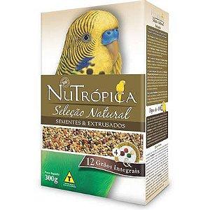 Ração Nutrópica Seleção Natural Sementes e Extrusados para Periquito 300g