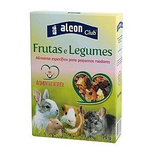 Ração Alcon Club para Roedores Frutas e Legumes 75g