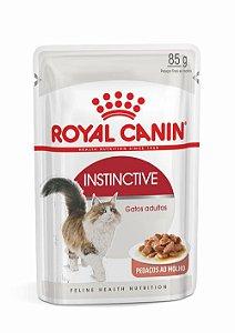 Ração Úmida Royal Canin Sachê para Gatos Adultos Instinctive