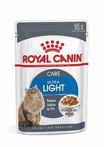 Ração Úmida Royal Canin Sachê para Gatos Adultos Ultra Light