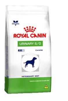 Ração Royal Canin Veterinary Diet Para Cães Urinários Urinary S/O Canine