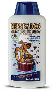 Sabão Líquido Mersey Dog Antipulgas 500ml