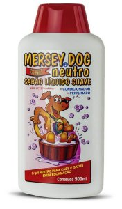 Sabão Líquido Mersey Dog Neutro 500ml