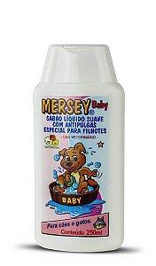 Sabão Líquido Mersey Dog Antipulgas Baby 500ml