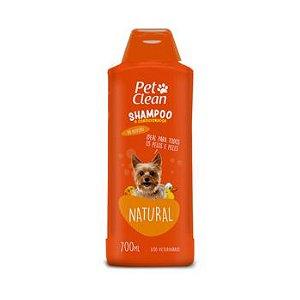 Shampoo e Condicionador Pet Clean Natural para Cães 700ml
