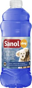 Eliminador de Odor Sanol Dog Tradicional 2Litros
