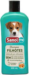 Shampoo Sanol Filhote para Cães 500ml