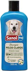 DUPLICADO - Shampoo Sanol Pele Sensível para Cães e Gatos 500ml