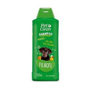 Shampoo e Condicionador Pet Clean Filhote para Cães 700ml