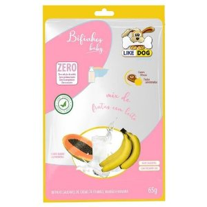 Bifinho Like Dog Baby Frutas 65g