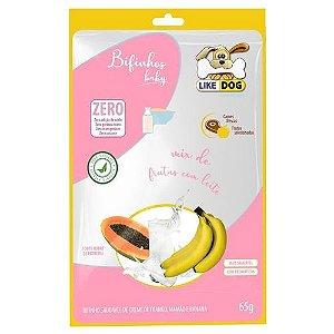 Bifinho Like Dog Baby Frutas 65g