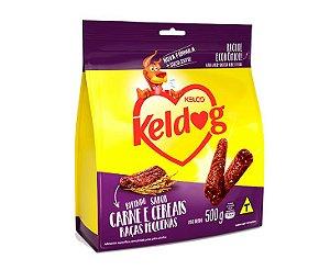 Bifinho Keldog Raças Pequenas Sabor Carne e Cereais 500g