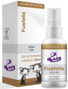 Homeopet Fusfelis Tratamento Trato Urinário em Gatos 30ml