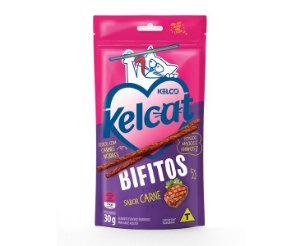 Petisco Kelcat Bifitos Sabor Carne 30g