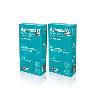 Antimicrobiano Agemoxi CL 10 comprimidos
