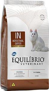Ração Equilíbrio Veterinary Gatos Intestinal