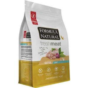 Fórmula Natural Fresh Meat Gatos Adultos Light Sabor Frango