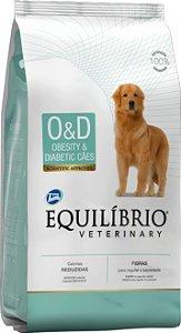 Ração Equilíbrio Veterinary Cães Obesity & Diabetic