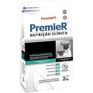 Ração Premier Nutrição Clínica para Cães Raças Pequenas Hipoalergênica Proteina Hidrolizada e Mandioca