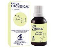 Fator Litovesical Tratamento Cálculo Vesical em Cães e Gatos 26g