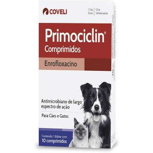 Primociclin Antimicrobiano com  10 Comprimidos