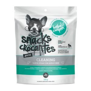 Bifinho Snacks Crocantes Herbal Cleaning 150g
