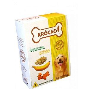Biscoito Krocao Banana Aveia