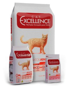 Ração Excellence Cat Adulto Sabor Carne