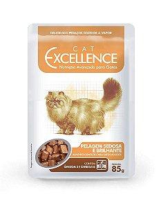Excellence Sachê Cat Pelagem Sedosa e Brilhante 85g