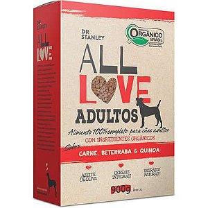 Ração All Love Sabor Carne, Beterraba & Quinoa para Cães Adultos