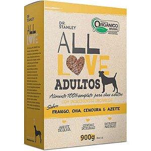 Ração All Love Sabor Frango, Chia, Cenoura & Azeite para Cães Adultos