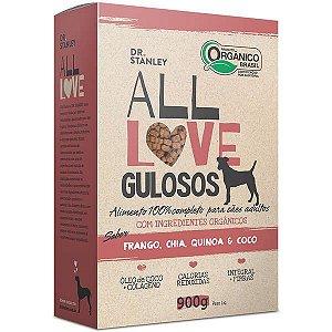 All Love Gulosos Sabor Frango, Chia, Quinoa & Coco para Cães Adultos