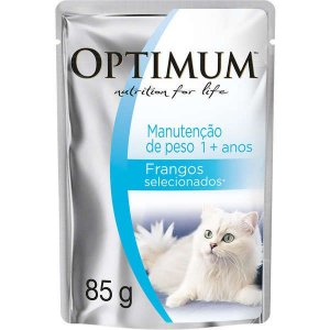Optimum Cat Sache Adulto Manut Peso 85g