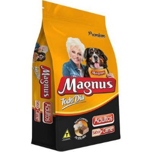 Ração Magnus Todo Dia Sabor Carne para Cães Adultos