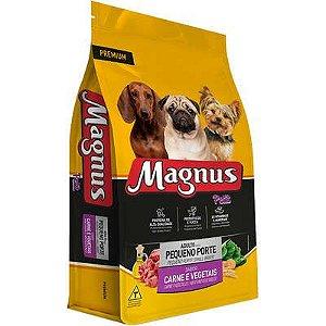 Ração Magnus Petit Sabor Carne & Vegetais para Cães Adultos Porte Pequeno