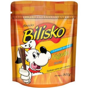 Bilisko Petisco para Cães Palito Fígado