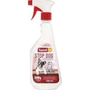 Educador Sanol Stop Dog para Cães e Gatos - 500 mL