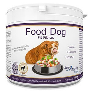 Suplemento Alimentar Food Dog Fit Fibras